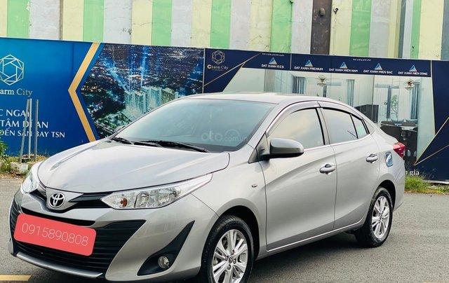 Bán Toyota Vios E MT 2019, màu bạc1