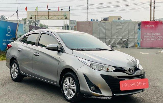 Bán Toyota Vios E MT 2019, màu bạc3