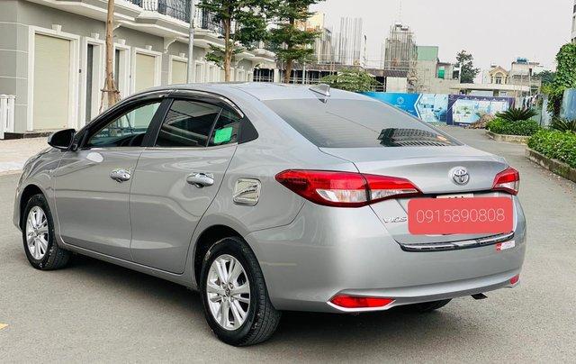 Bán Toyota Vios E MT 2019, màu bạc5