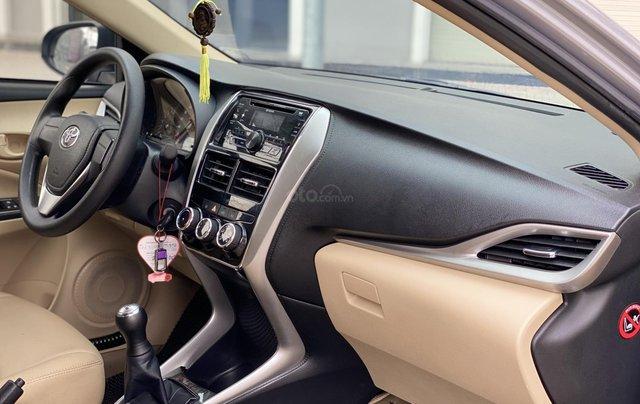Bán Toyota Vios E MT 2019, màu bạc12