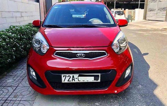 Bán xe Kia Picanto năm 2012, màu đỏ, xe nhập còn mới, 265 triệu0