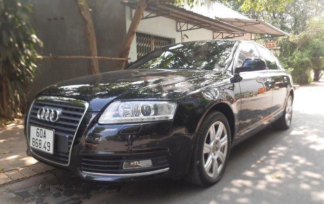 Audi A6 2.0 TFSI nhập khẩu từ Đức 01/2010 phiên bản full1