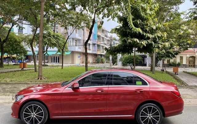Bán Mercedes C200 Exclusive đỏ/kem 2020 vô thêm cửa hít2