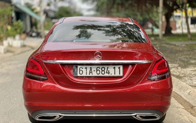 Bán Mercedes C200 Exclusive đỏ/kem 2020 vô thêm cửa hít4