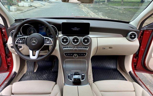 Bán Mercedes C200 Exclusive đỏ/kem 2020 vô thêm cửa hít8