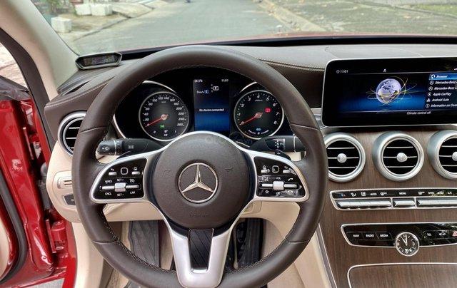 Bán Mercedes C200 Exclusive đỏ/kem 2020 vô thêm cửa hít9