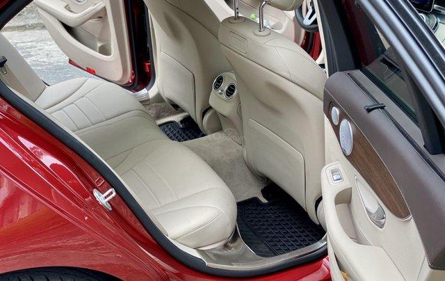 Bán Mercedes C200 Exclusive đỏ/kem 2020 vô thêm cửa hít13
