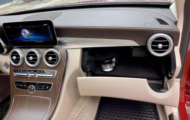 Bán Mercedes C200 Exclusive đỏ/kem 2020 vô thêm cửa hít14
