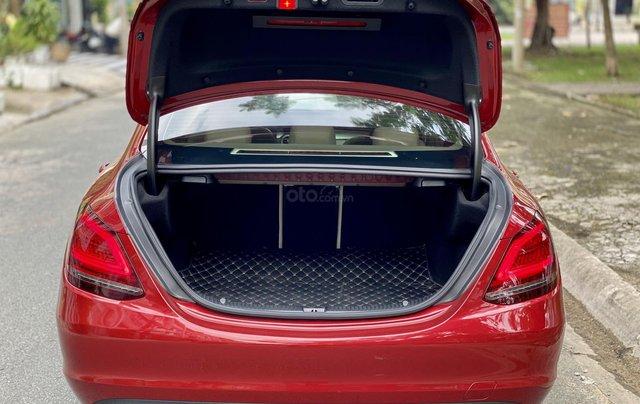 Bán Mercedes C200 Exclusive đỏ/kem 2020 vô thêm cửa hít5