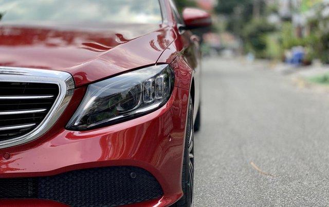 Bán Mercedes C200 Exclusive đỏ/kem 2020 vô thêm cửa hít6