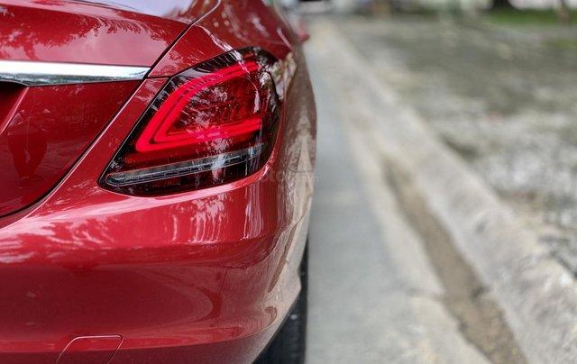 Bán Mercedes C200 Exclusive đỏ/kem 2020 vô thêm cửa hít7