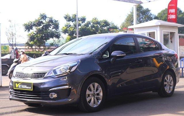 Kia Rio 1.4AT 2016 (sedan), màu xám1