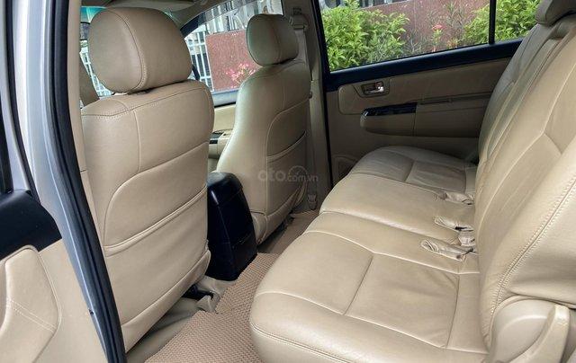 Bán Toyota Fortuner 2.5G, số sàn, máy dầu, sản xuất 2016, màu bạc, xe đẹp BSTP, trang bị đầy đủ đồ8