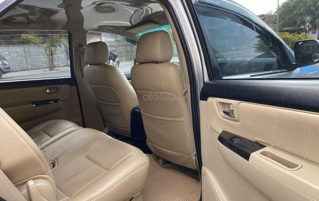 Bán Toyota Fortuner 2.5G, số sàn, máy dầu, sản xuất 2016, màu bạc, xe đẹp BSTP, trang bị đầy đủ đồ10
