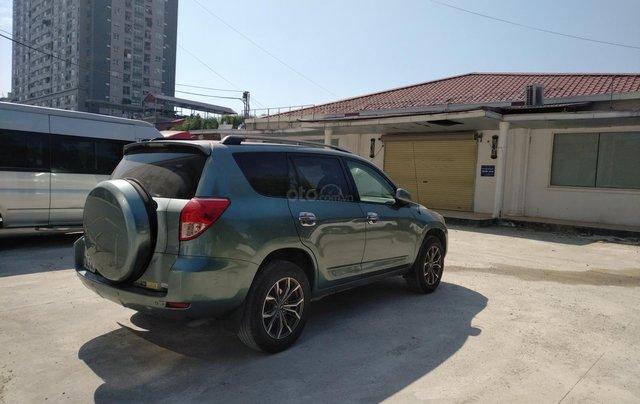 Xe Toyota Rav4 nhập khẩu, đổ xăng là chạy sản xuất 2006, đăng ký lẫn đâu 2008, màu xanh1