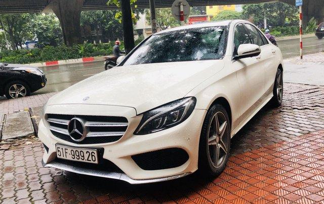 Mercedes C300 AMG màu trắng cực mới2