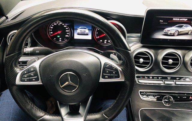 Mercedes C300 AMG màu trắng cực mới6