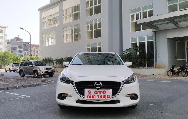 Mazda 3 2.0AT sản xuất 2018, màu trắng0