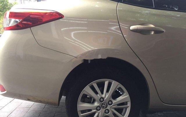 Xe Toyota Vios năm 2020, màu vàng còn mới6