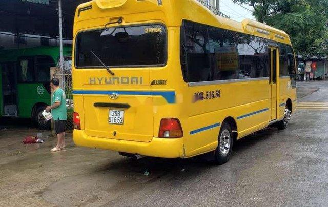 Bán ô tô Hyundai County sản xuất 2015, màu vàng, xe nhập còn mới0