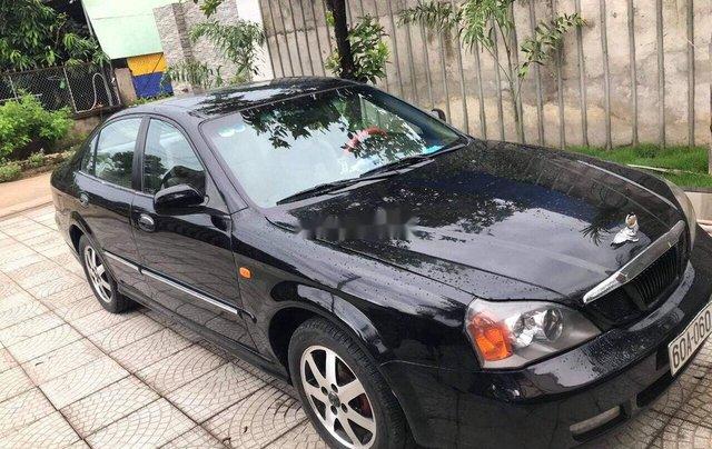 Bán Daewoo Magnus năm sản xuất 2004, màu đen, xe nhập2