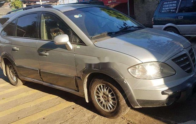 Cần bán lại xe Ssangyong Stavic đời 2007, màu bạc, nhập khẩu còn mới2