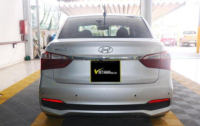 Hyundai Grand i10 1.2AT 2019 (Sedan), màu bạc3