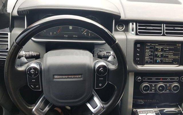 Chính chủ bán Land Rover Range Rover Autobiography Black Edition 5.0L model 2016 màu đen, đã lên form bản SV 202011