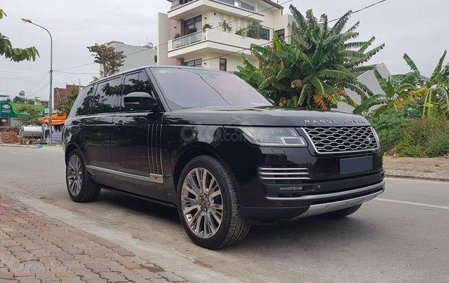 Chính chủ bán Land Rover Range Rover Autobiography Black Edition 5.0L model 2016 màu đen, đã lên form bản SV 20204