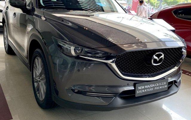 Hỗ trợ mua xe giá thấp với chiếc Mazda CX5 Signature Pre 2.5AT FWD đời 2020, giao nhanh1