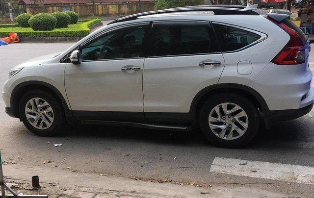 Honda CRV 2015 màu trắng suv1
