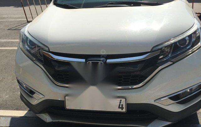 Honda CRV 2015 màu trắng suv0