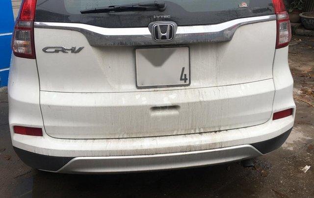 Honda CRV 2015 màu trắng suv2