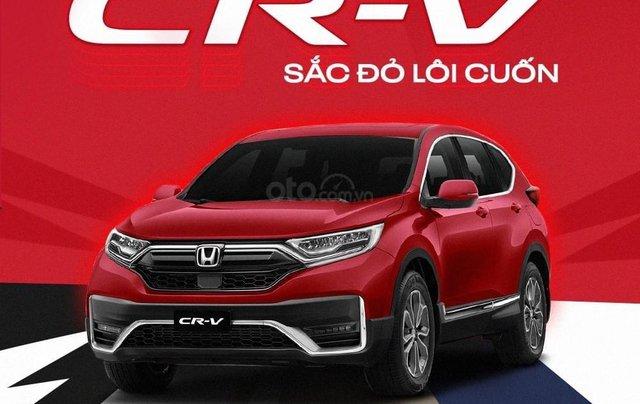 Honda CRV 2021 - Hỗ trợ 100% thuế trước bạ. Giá chỉ từ 998tr đồng2