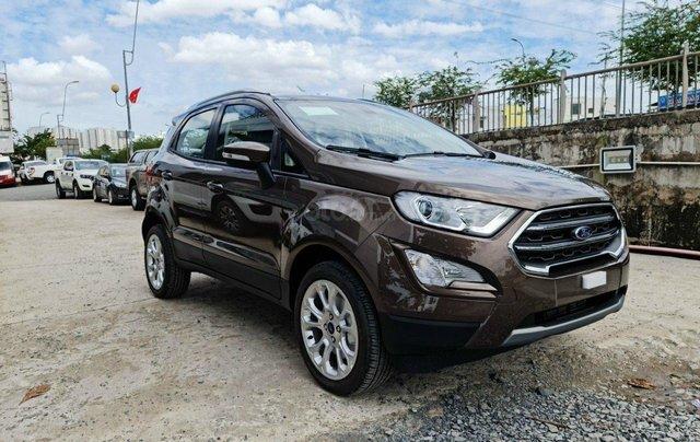 [ Hot ] Ford Ecosport 2020, hỗ trợ vay 80% giá trị xe, giao xe ngay, KM giá trị lên đến 40 triệu và nhiều phần quà khác0