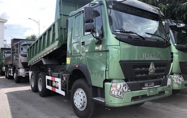 Xe ben Howo Sinotruk 6×4 (3 chân)12 tấn - thùng Hyundai, xe có sẵn, giao ngay0