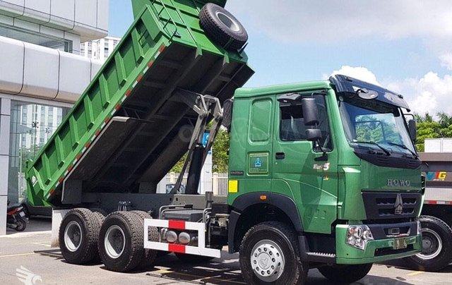 Xe ben Howo Sinotruk 6×4 (3 chân)12 tấn - thùng Hyundai, xe có sẵn, giao ngay1