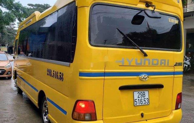 Bán ô tô Hyundai County sản xuất 2015, màu vàng, xe nhập còn mới10