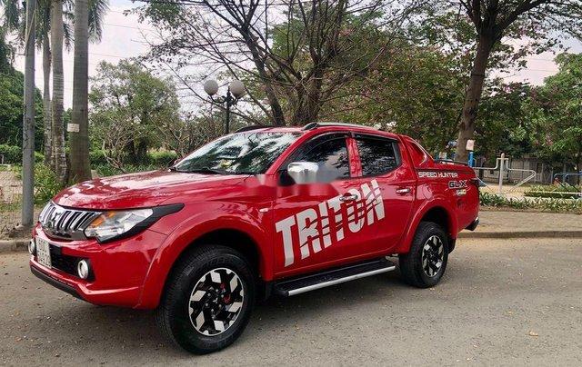 Cần bán xe Mitsubishi Triton đời 2015, màu đỏ, xe nhập số sàn, 385 triệu1
