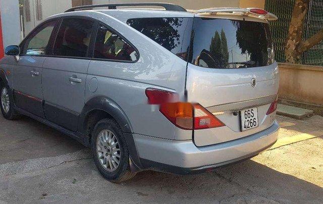 Cần bán lại xe Ssangyong Stavic đời 2007, màu bạc, nhập khẩu còn mới4