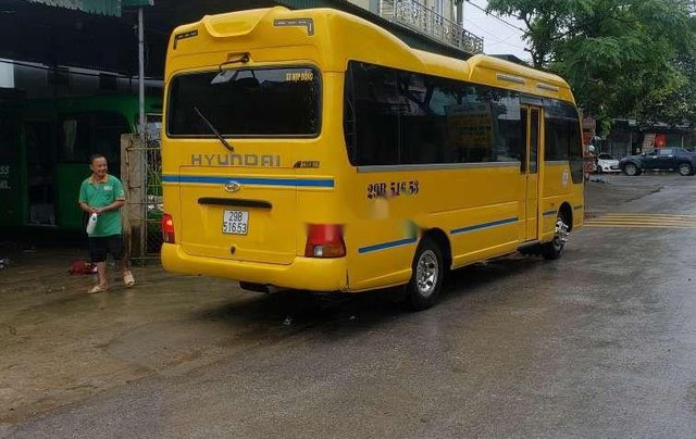 Bán ô tô Hyundai County sản xuất 2015, màu vàng, xe nhập còn mới8