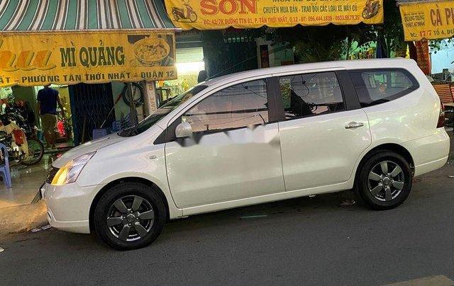 Bán ô tô Nissan Grand livina 2012, màu trắng, xe nhập số sàn, giá tốt6