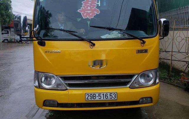 Bán ô tô Hyundai County sản xuất 2015, màu vàng, xe nhập còn mới9