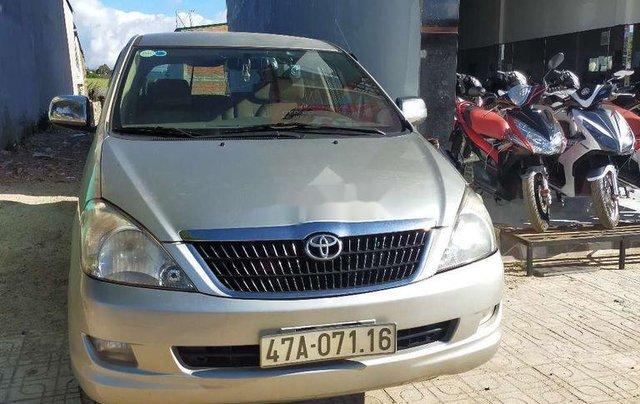 Bán Toyota Innova 2006, màu bạc, nhập khẩu nguyên chiếc xe gia đình3