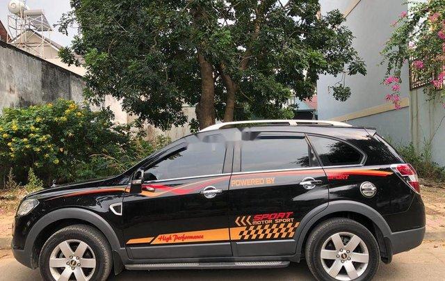 Bán Chevrolet Captiva năm sản xuất 2008, màu đen, xe nhập chính chủ0