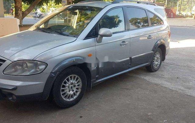 Cần bán lại xe Ssangyong Stavic đời 2007, màu bạc, nhập khẩu còn mới1