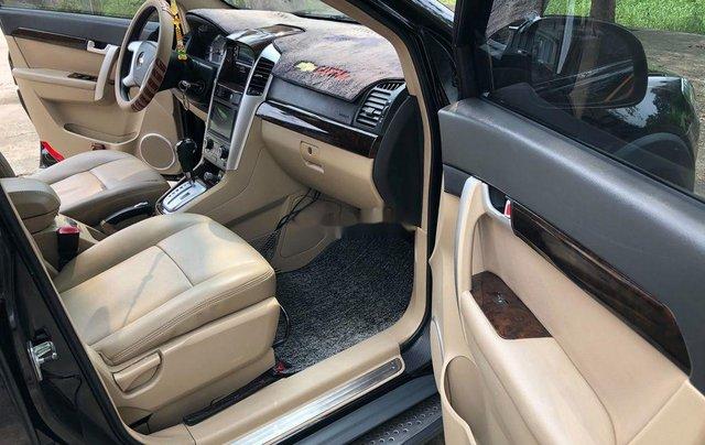 Bán Chevrolet Captiva năm sản xuất 2008, màu đen, xe nhập chính chủ9