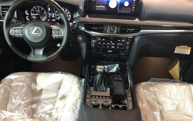 Bán Lexus LX 570 V8 2020, màu trắng, nhập khẩu số tự động8