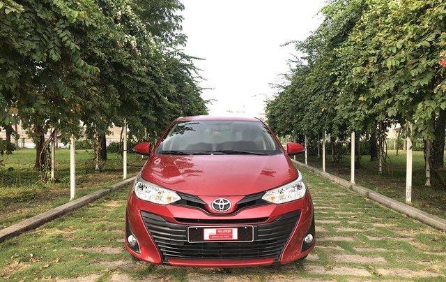 Bán Toyota Vios 2019, màu đỏ, giá 530tr1