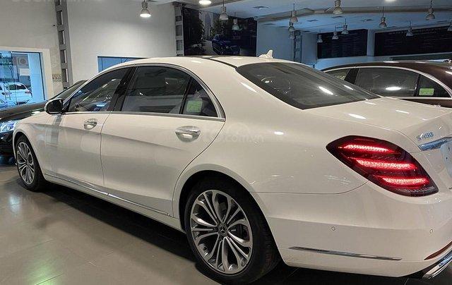 Bán xe Mercedes S450 Luxury sản xuất 2020, màu trắng, đi 2000km, mới 99%, giá cực rẻ3